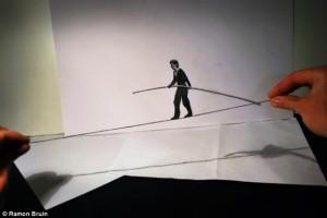 More Ramon Bruin's 3D Sketches