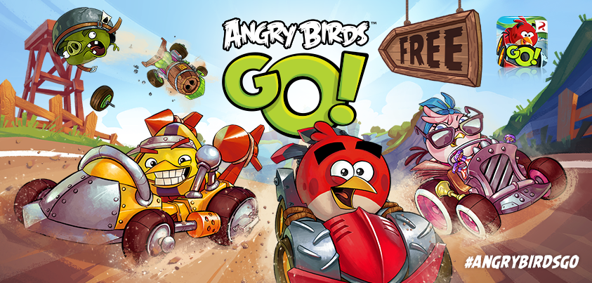 Angry Birds Go Kart Coloring Pages Angry birds' rival m