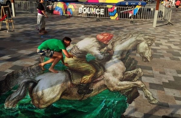streets_are_alive_in_Dubai_3d_art